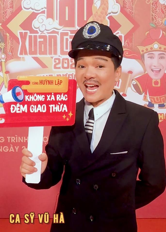 """Nghệ sĩ ủng hộ chiến dịch """"Không xả rác đêm giao thừa"""" của Huỳnh Lập - Ảnh 8."""