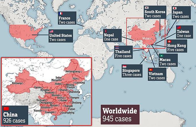 Virus Vũ Hán: 41 người tử vong, 13 thành phố bị hạn chế đi lại - Ảnh 1.