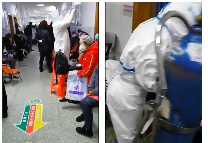 Virus Vũ Hán: Thương y, bác sĩ, người dân lặng lẽ đem cháo, bánh bao tới bệnh viện - Ảnh 3.