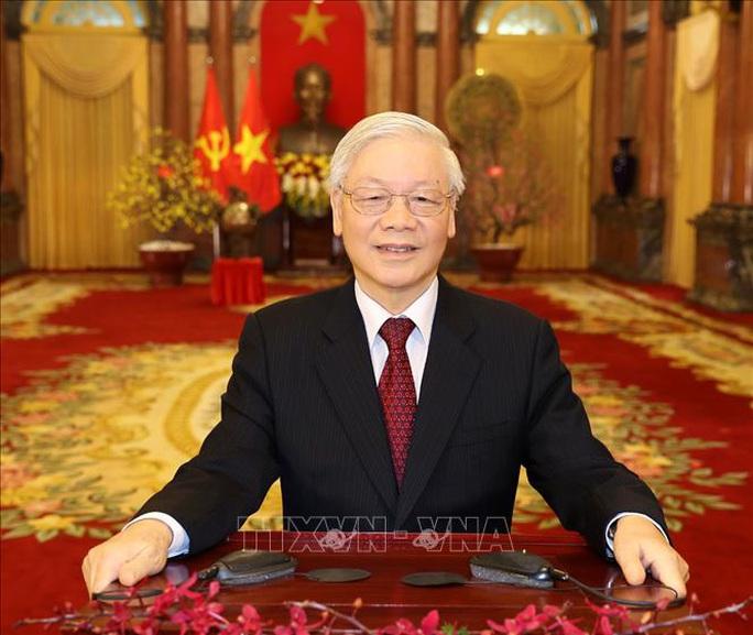 Tổng Bí thư, Chủ tịch nước Nguyễn Phú Trọng đọc thơ chúc Tết - Ảnh 1.