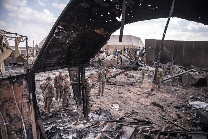 34 quân nhân Mỹ bị chấn thương sọ não từ tấn công của Iran - Ảnh 1.
