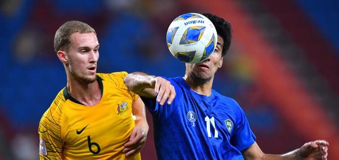 Đánh bại ĐKVĐ Uzbekistan, U23 Úc giành vé dự Olympic 2020 - Ảnh 3.