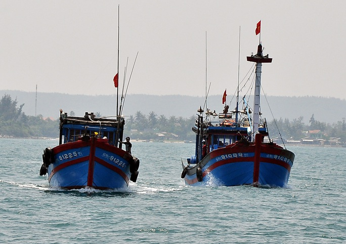 Những con tàu đón Tết trên đại dương - Ảnh 1.