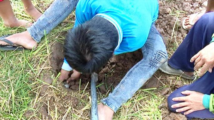 Về miền Tây xem cảnh già, trẻ hò reo săn chuột đồng mùa Tết - Ảnh 6.