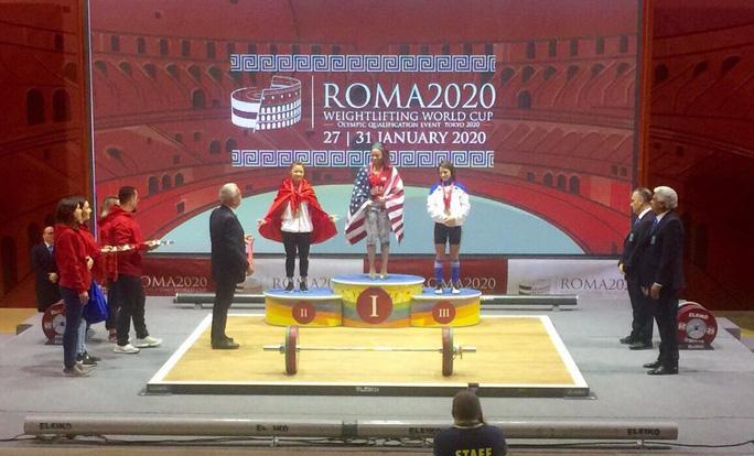 Thạch Kim Tuấn giành 3 ngôi vô địch World Cup cử tạ 2020 - Ảnh 3.