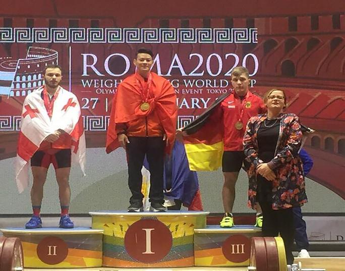 Thạch Kim Tuấn giành 3 ngôi vô địch World Cup cử tạ 2020 - Ảnh 2.