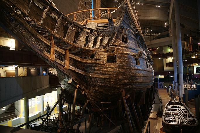 Siêu tàu chiến Vasa mới xuất phát 20 phút đã chìm - Ảnh 5.