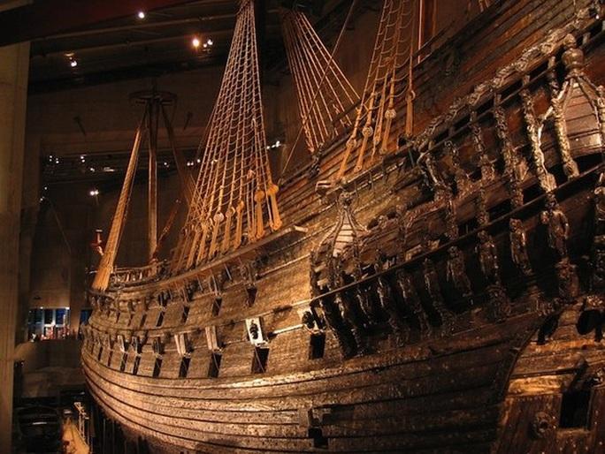 Siêu tàu chiến Vasa mới xuất phát 20 phút đã chìm - Ảnh 6.