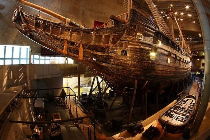 Siêu tàu chiến Vasa mới xuất phát 20 phút đã chìm - Ảnh 4.