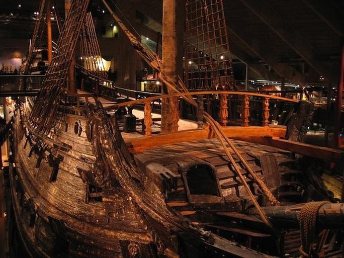 Siêu tàu chiến Vasa mới xuất phát 20 phút đã chìm - Ảnh 7.