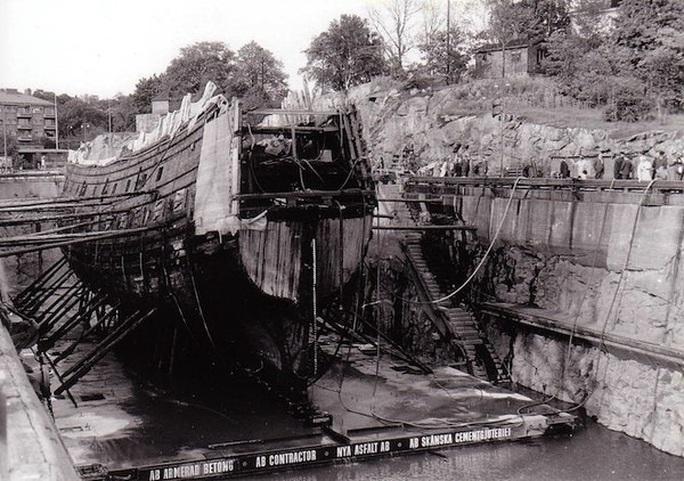 Siêu tàu chiến Vasa mới xuất phát 20 phút đã chìm - Ảnh 3.