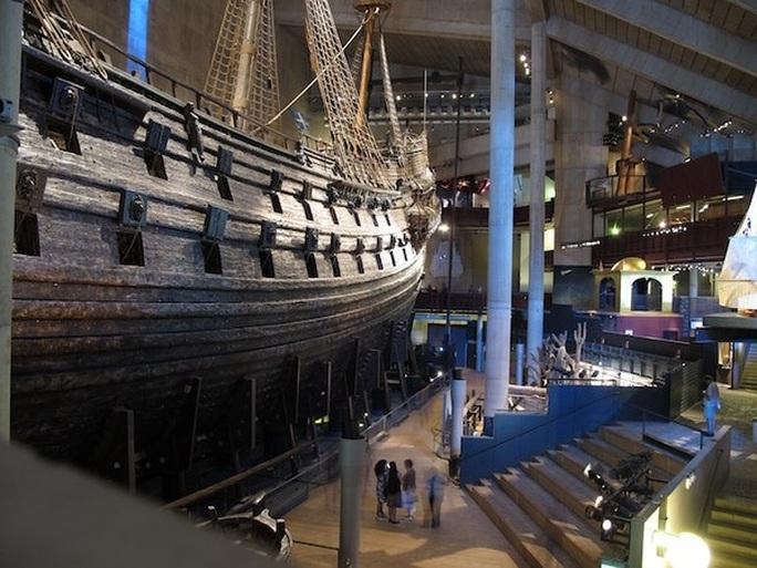 Siêu tàu chiến Vasa mới xuất phát 20 phút đã chìm - Ảnh 9.