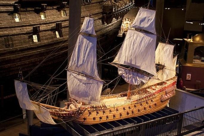 Siêu tàu chiến Vasa mới xuất phát 20 phút đã chìm - Ảnh 1.