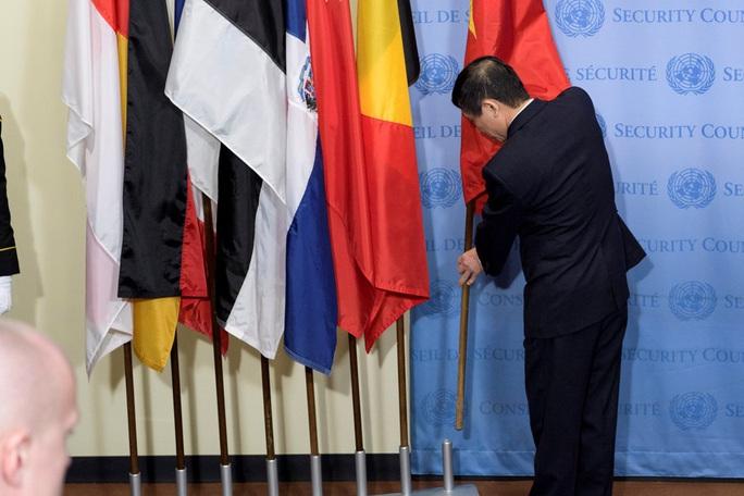 Chính thức cắm quốc kỳ Việt Nam vào hàng cờ ủy viên Hội đồng Bảo an LHQ - Ảnh 3.