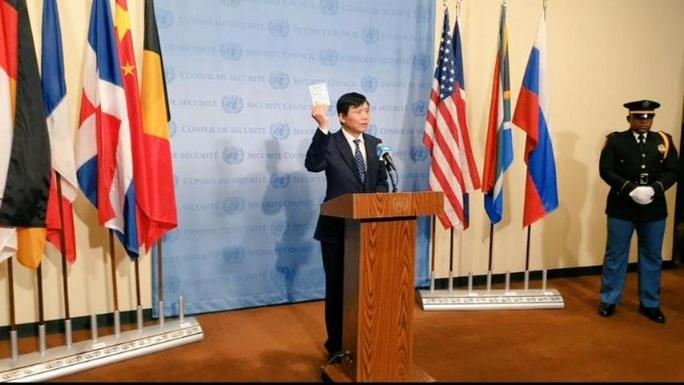 Chính thức cắm quốc kỳ Việt Nam vào hàng cờ ủy viên Hội đồng Bảo an LHQ - Ảnh 2.