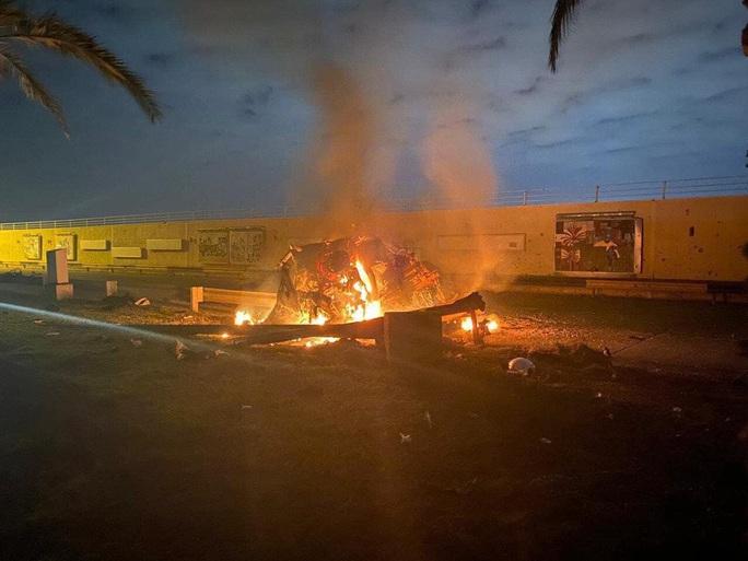 Sân bay Baghdad hứng tên lửa, tư lệnh hàng đầu Iran tử trận - Ảnh 3.