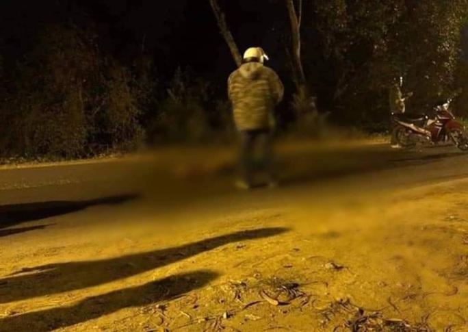 Một người bị bắn chết ở Củ Chi lúc nửa đêm - Ảnh 1.