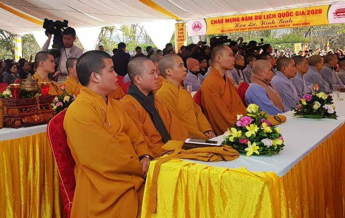 Phó Thủ tướng Thường trực Trương Hòa Bình đánh trống khai hội chùa Bái Đính - Ảnh 3.