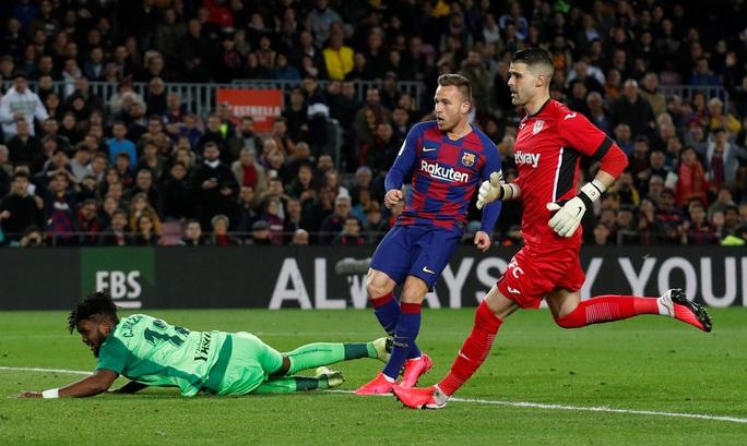 Barcelona đại thắng Leganes, Messi cứu ghế HLV Quique Setien - Ảnh 5.