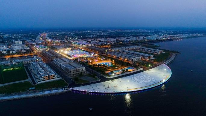 Hành trình xây dựng khu đô thị xanh giữa lòng thành phố biển Tây - Ảnh 1.