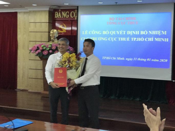 Ông Lê Duy Minh giữ chức Cục trưởng Cục Thuế TP HCM - Ảnh 1.