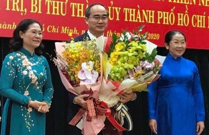Bí thư Nguyễn Thiện Nhân xúc động khi nhận huy hiệu 40 năm tuổi Đảng - Ảnh 3.