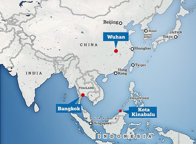 Trung Quốc đưa máy bay đón công dân Vũ Hán về từ Thái Lan, Malaysia - Ảnh 2.