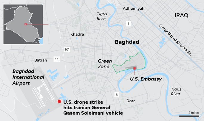Tướng Soleimani thiệt mạng: Đỉnh điểm của 7 ngày chết chóc Mỹ- Iran - Ảnh 4.