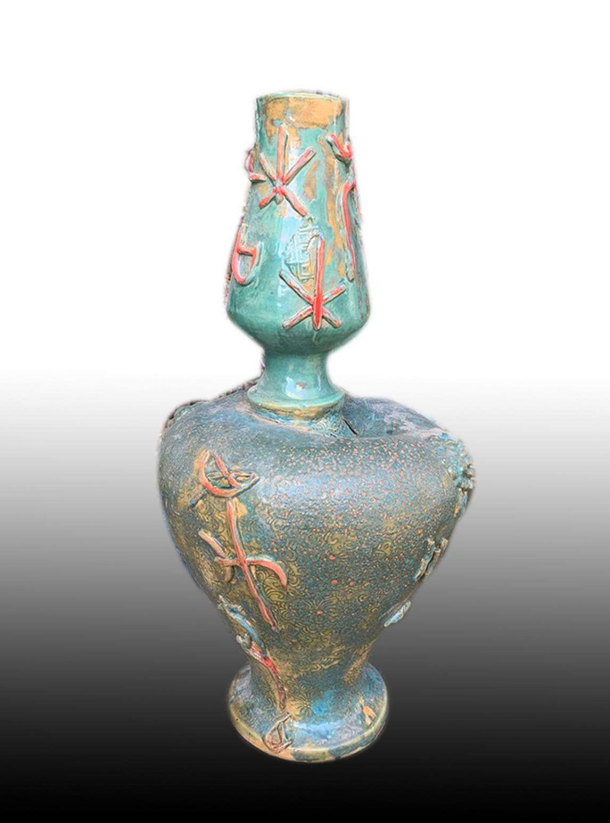 Ngắm bộ sưu tập gốm tại triển lãm Gốm Sài Gòn - Ảnh 16.