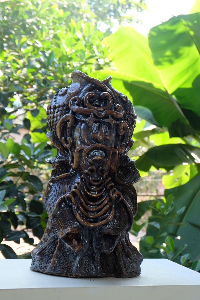 Ngắm bộ sưu tập gốm tại triển lãm Gốm Sài Gòn - Ảnh 11.