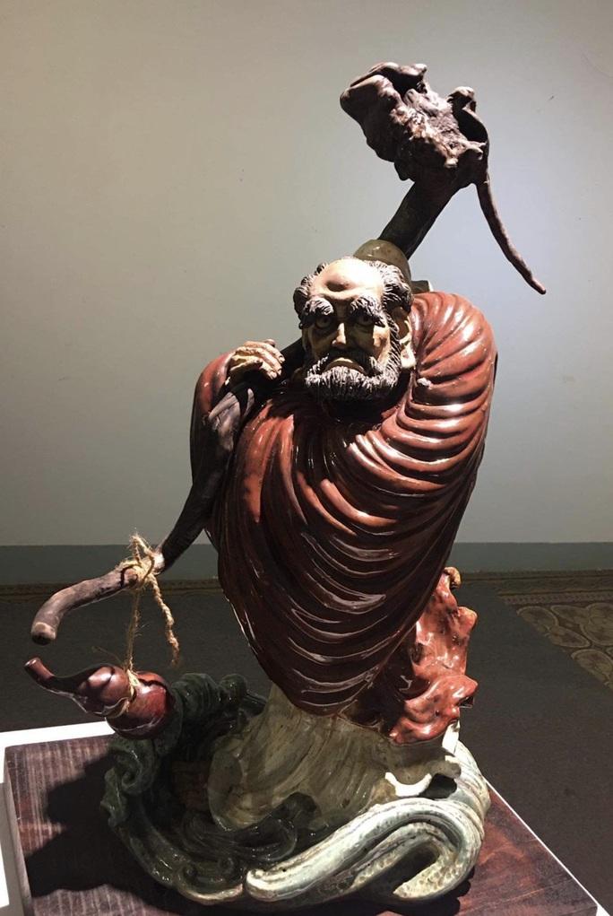 Ngắm bộ sưu tập gốm tại triển lãm Gốm Sài Gòn - Ảnh 8.