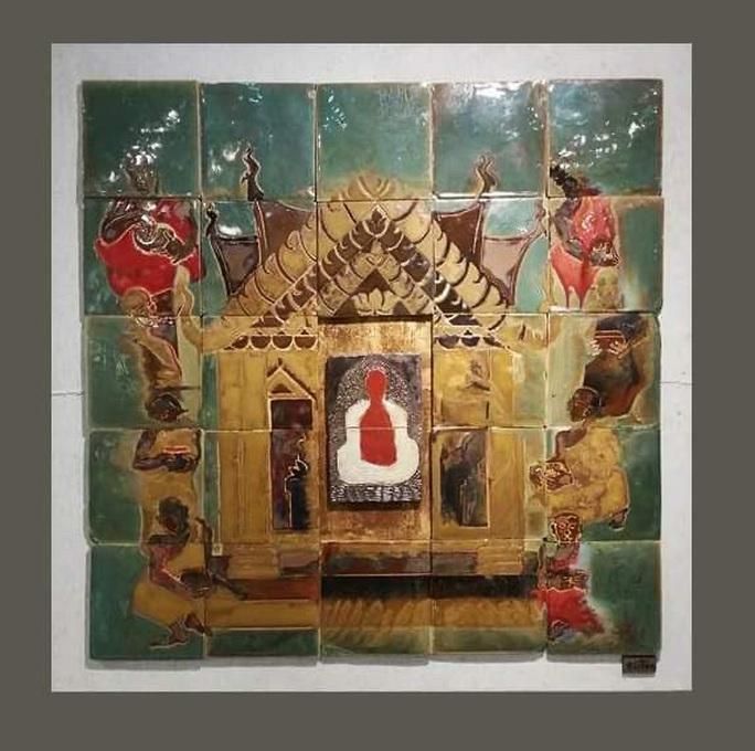 Ngắm bộ sưu tập gốm tại triển lãm Gốm Sài Gòn - Ảnh 6.
