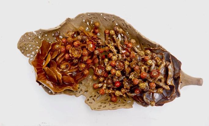 Ngắm bộ sưu tập gốm tại triển lãm Gốm Sài Gòn - Ảnh 4.