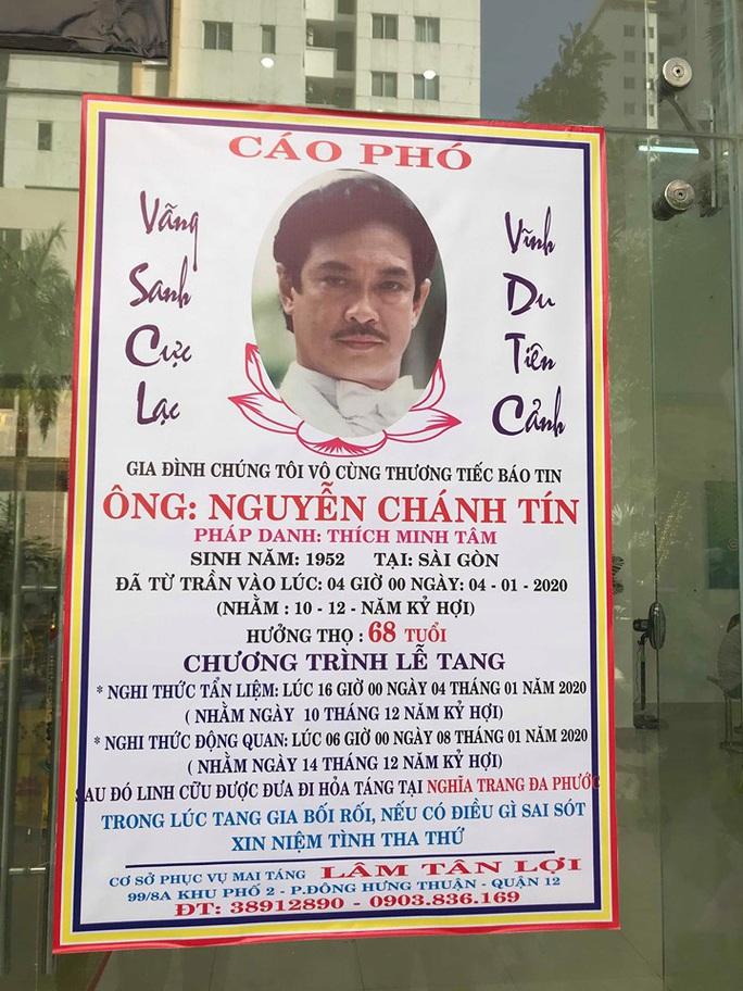 Nguyên thủ tướng Nguyễn Tấn Dũng viếng tang lễ NSƯT Nguyễn Chánh Tín - Ảnh 8.