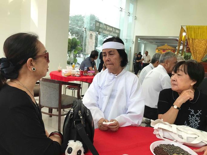 Nguyên thủ tướng Nguyễn Tấn Dũng viếng tang lễ NSƯT Nguyễn Chánh Tín - Ảnh 5.