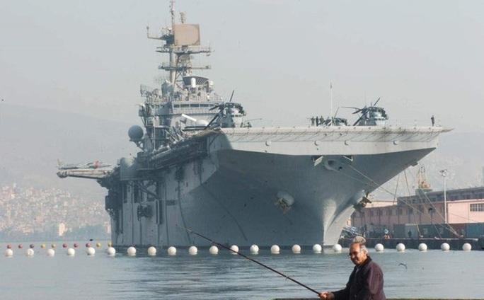 Hải quân Mỹ hủy tập trận chung ở Morocco, điều hơn 2.000 lính đến Trung Đông - Ảnh 1.