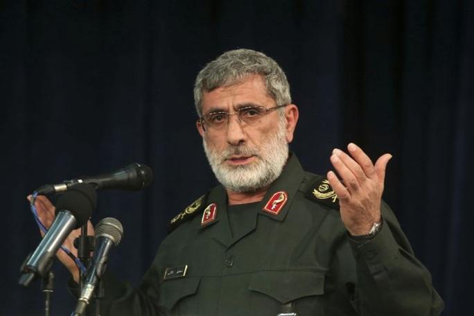 Tân tư lệnh thay tướng Soleimani coi thường Mỹ, Israel - Ảnh 1.