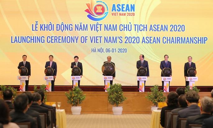 Thủ tướng chủ trì Lễ Khởi động Năm Chủ tịch ASEAN 2020 - Ảnh 6.