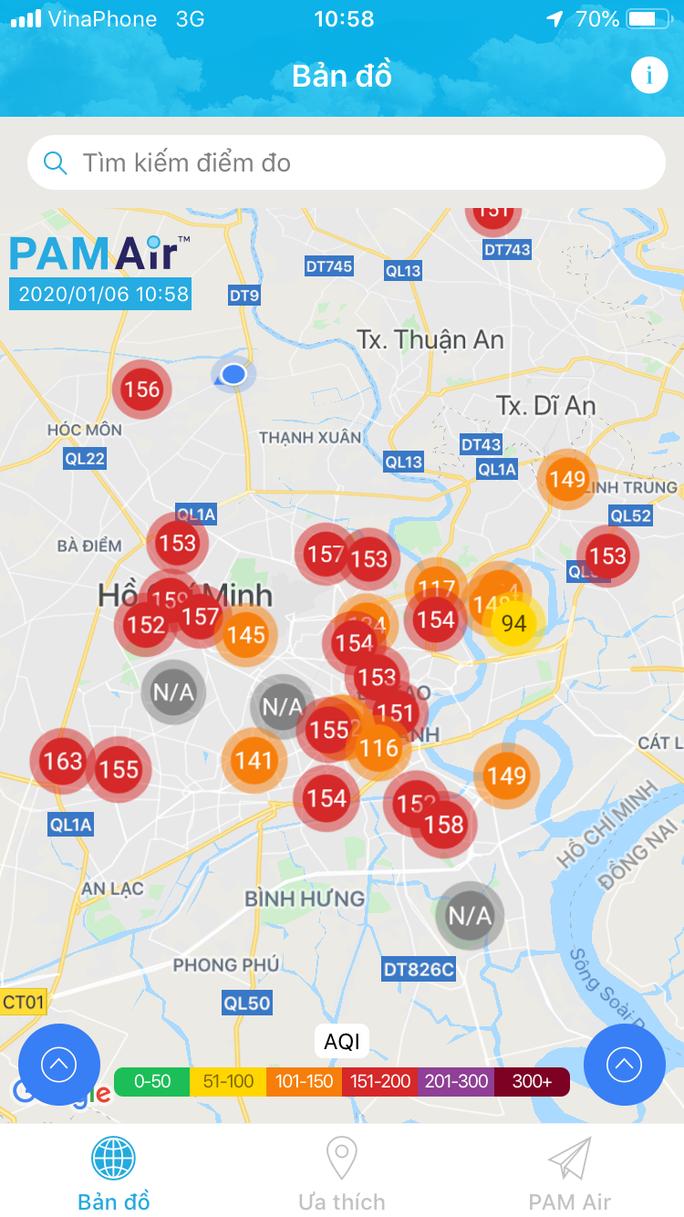 Vì sao không khí ở TP HCM ô nhiễm nặng ngày đầu tuần? - Ảnh 1.