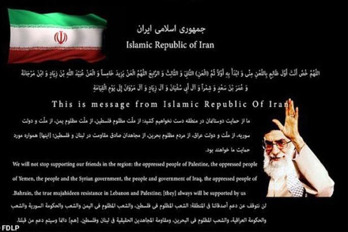 Tin tặc Iran tấn công website chính phủ Mỹ? - Ảnh 1.