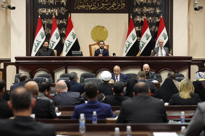 """Iraq tung """"chiếc ô pháp lý"""" tránh chiến tranh cận kề - Ảnh 1."""