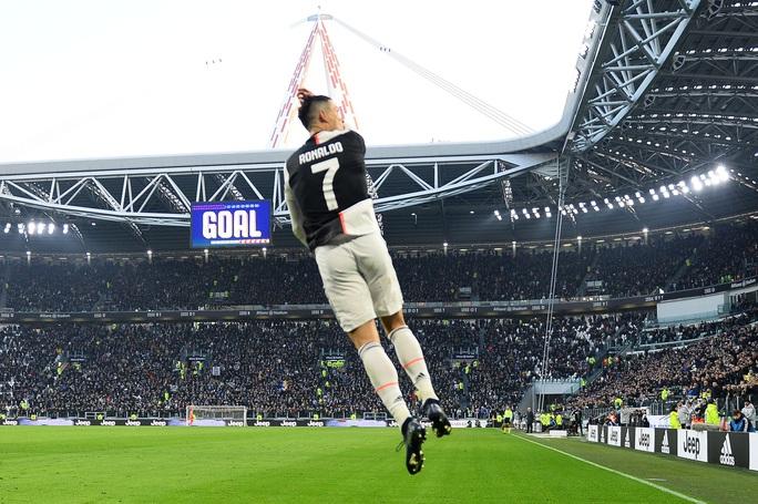 Ronaldo bắt kịp thành tích ghi bàn của Messi sau khi lập hat-trick vào lưới Cagliari - Ảnh 5.