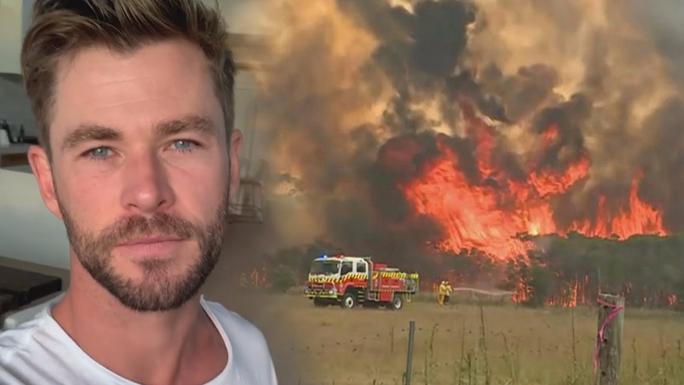 Thần sấm Chris Hemsworth quyên 23 tỉ đồng khắc phục cháy rừng ở Úc - Ảnh 1.