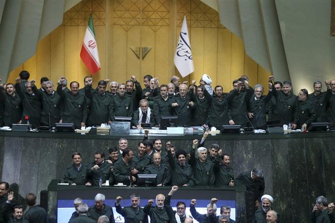 Iran thông qua luật xem quân đội Mỹ là khủng bố - Ảnh 1.