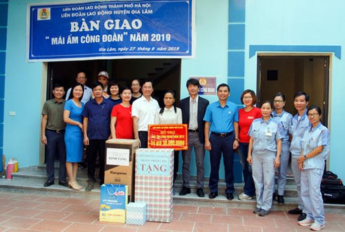 Hà Nội: Hỗ trợ đoàn viên khó khăn an cư - Ảnh 1.