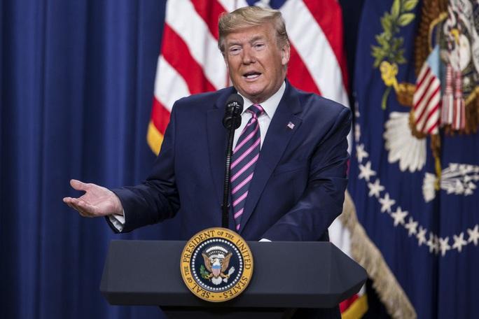 Tổng thống Donald Trump lên tiếng sau khi Iran tấn công căn cứ Mỹ - Ảnh 1.