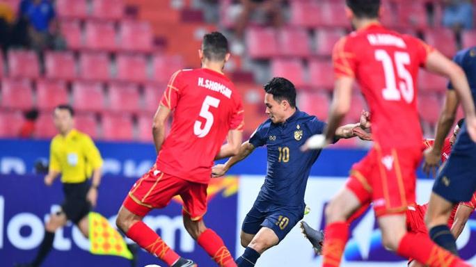U23 Thái Lan khiến châu Á bất ngờ khi thắng Bahrain đến 5-0 - Ảnh 1.