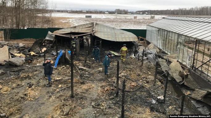 Nga: Cháy tại trang trại nhà kính, 8 người Việt thiệt mạng? - Ảnh 1.
