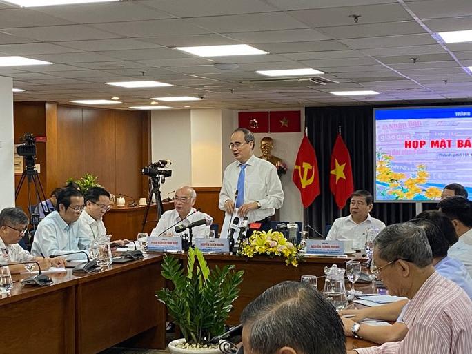 Bí thư Thành ủy TP HCM Nguyễn Thiện Nhân nói về thông báo kết luận của Ủy ban Kiểm tra Trung ương - Ảnh 1.