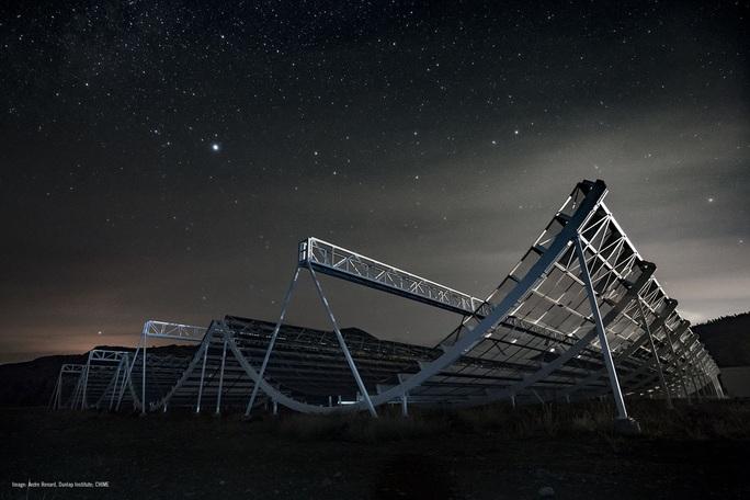 Trái đất bắt được tín hiệu vô tuyến lạ từ thiên hà bản sao - Ảnh 1.